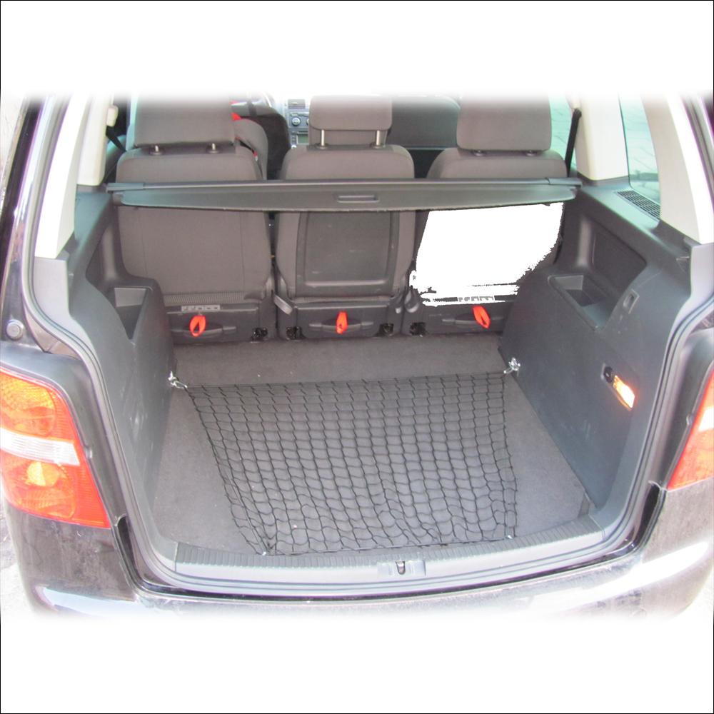 310157 cargo net bungee trunk luggag vw touran mk1 5 7 seater adjustable floor ebay. Black Bedroom Furniture Sets. Home Design Ideas