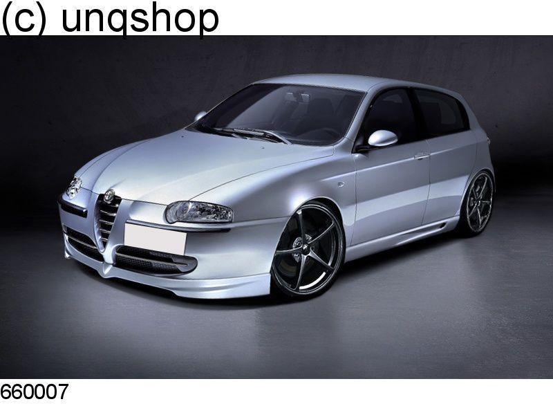 Front Splitter Bumper Lip Spoiler Valance Add On Alfa Romeo 147