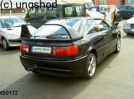 boot spoiler audi 80 b4 only for coupe. Black Bedroom Furniture Sets. Home Design Ideas