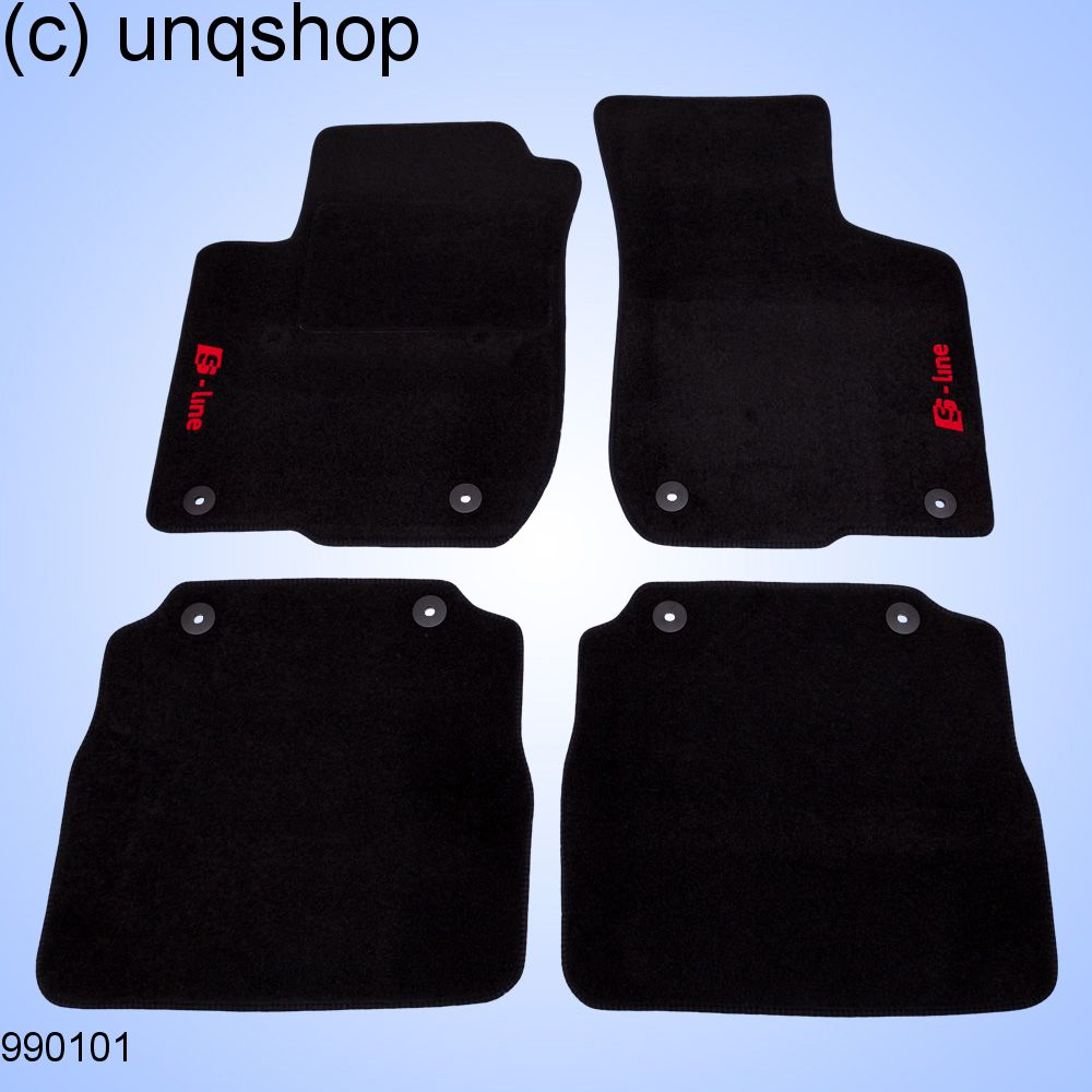 Car Mats A Audi A L Only For EURO LHD - Audi car mats