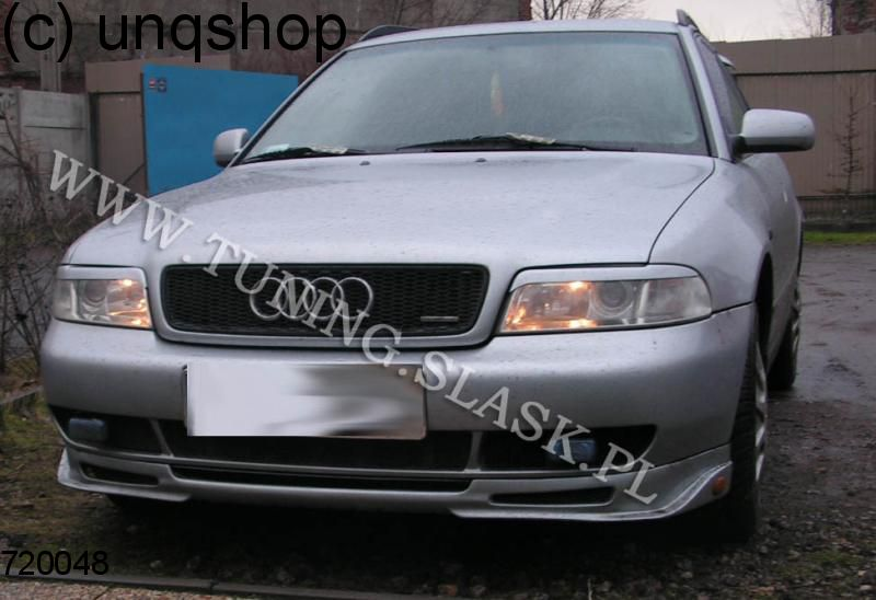 Front splitter bumper lip spoiler valance add on (R) Audi A4 B5