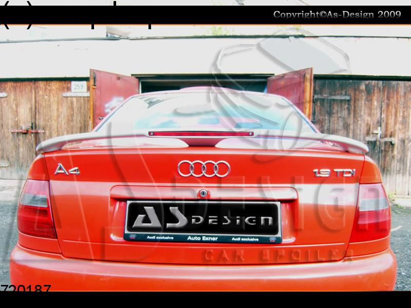 Boot spoiler (Third with stoplight) Audi A4 B5