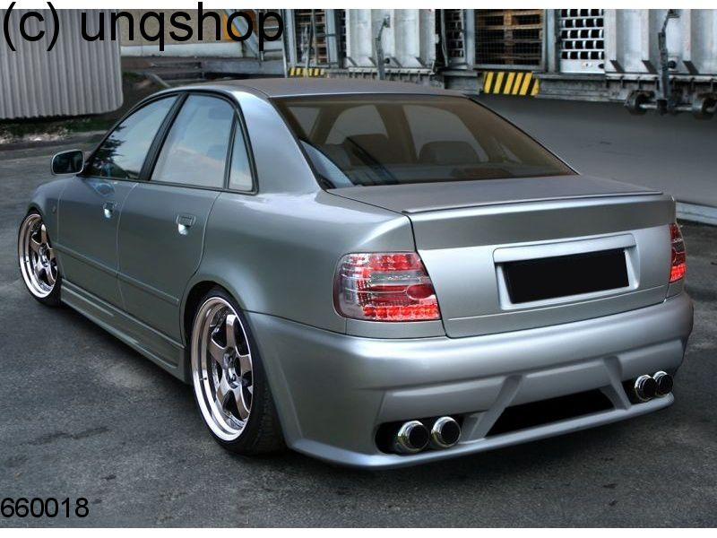 Rear bumper v audi a4 b5 for Mercedes benz b5 service