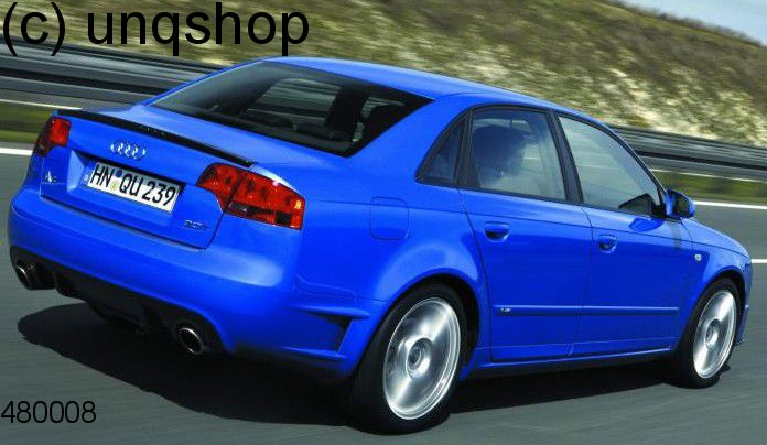 Boot Spoiler Audi A4 B7 , only for Non S-Line