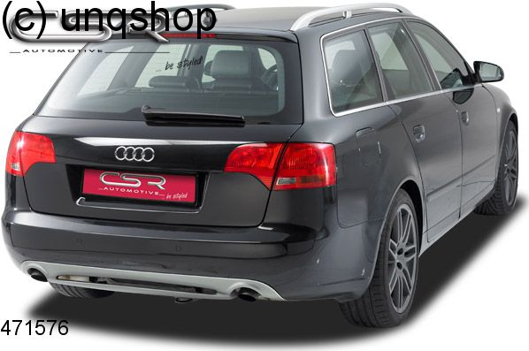 Rear Diffuser SFLINE Audi A B Only For Estate - Audi sf