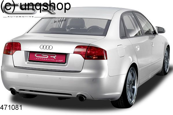 Rear diffuser (SF-LINE) Audi A4 B7 , only for Saloon