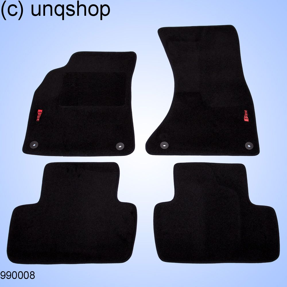 Car Mats A Audi A B Only For EURO LHD - Audi car mats
