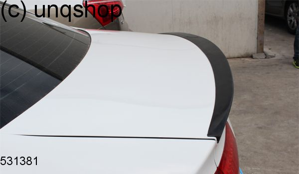 Boot Spoiler (J) Audi A4 B8 , only for Facelift 2012