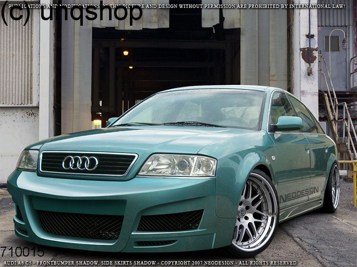 Front Bumper (Shadow) Audi A6 C5 , only for Facelift