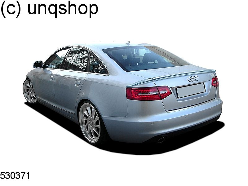 boot spoiler 3 pieces audi a6 c6 only for facelift. Black Bedroom Furniture Sets. Home Design Ideas