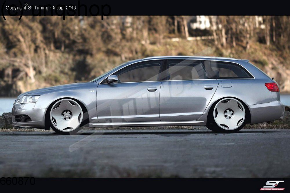 Side Skirts Audi A6 C6 Only For S Line Look