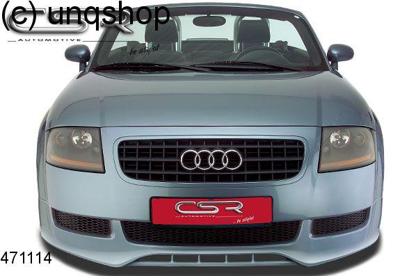 Front splitter bumper lip spoiler valance add on Audi TT ...