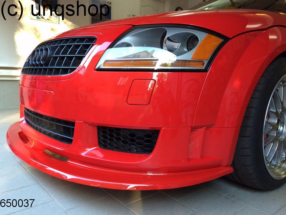 front splitter bumper lip spoiler valance add on audi tt. Black Bedroom Furniture Sets. Home Design Ideas