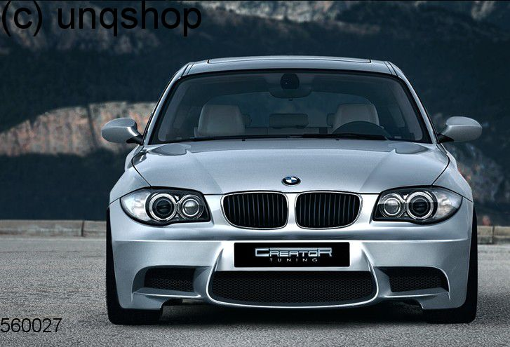 Front bumper (M STYLE) BMW 1 SERIES E81/82/87/88 , only for All shapes