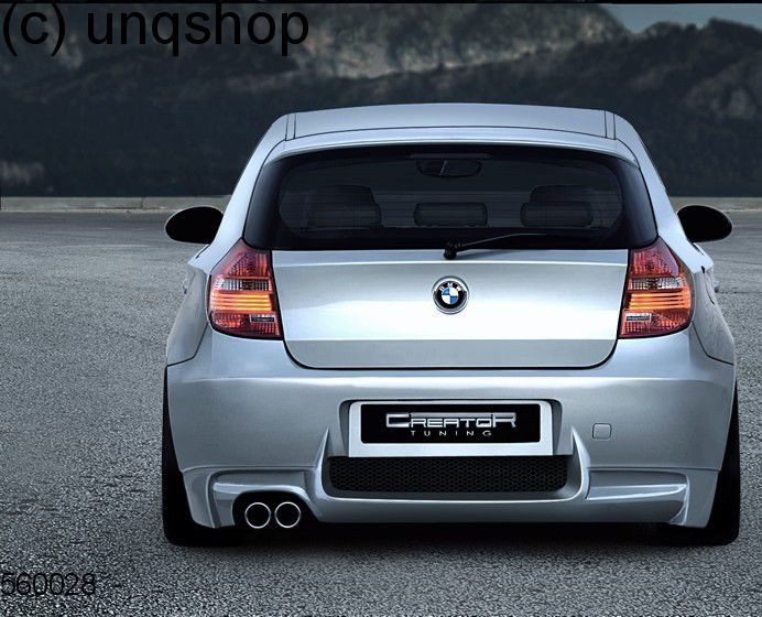 Rear bumper (M STYLE) BMW 1 SERIES E81/82/87/88 , only for E87