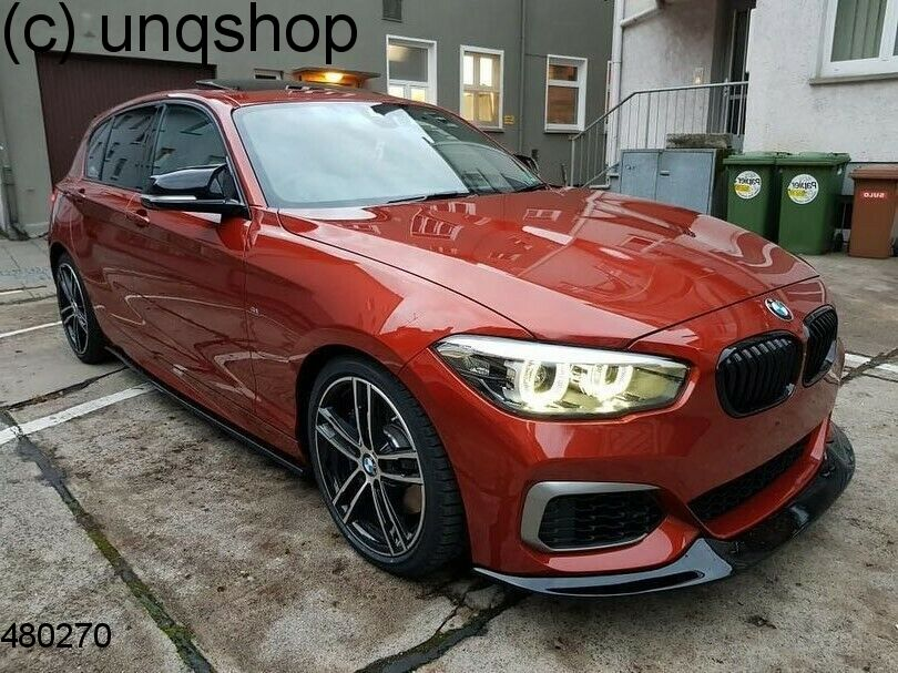 Front splitter bumper lip spoiler valance add on (M Technik) BMW 1 SERIES F20/F21 , only for LCI