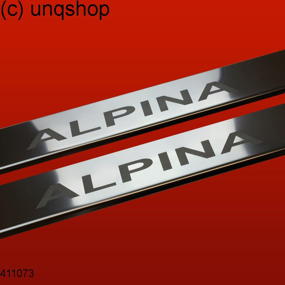 Door sills (ALPINA) BMW 3 SERIES E30 , only for Convertible/Cabrio/Coupe