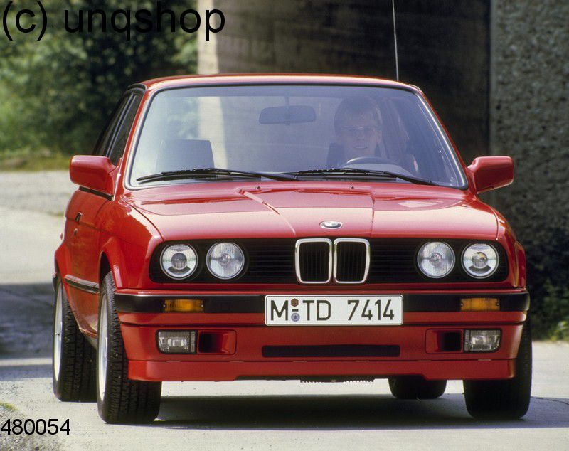 Front splitter bumper lip spoiler valance add on (IS) BMW 3 SERIES E30