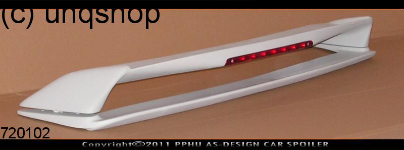 Boot spoiler (Double with stoplight) BMW 3 SERIES E36