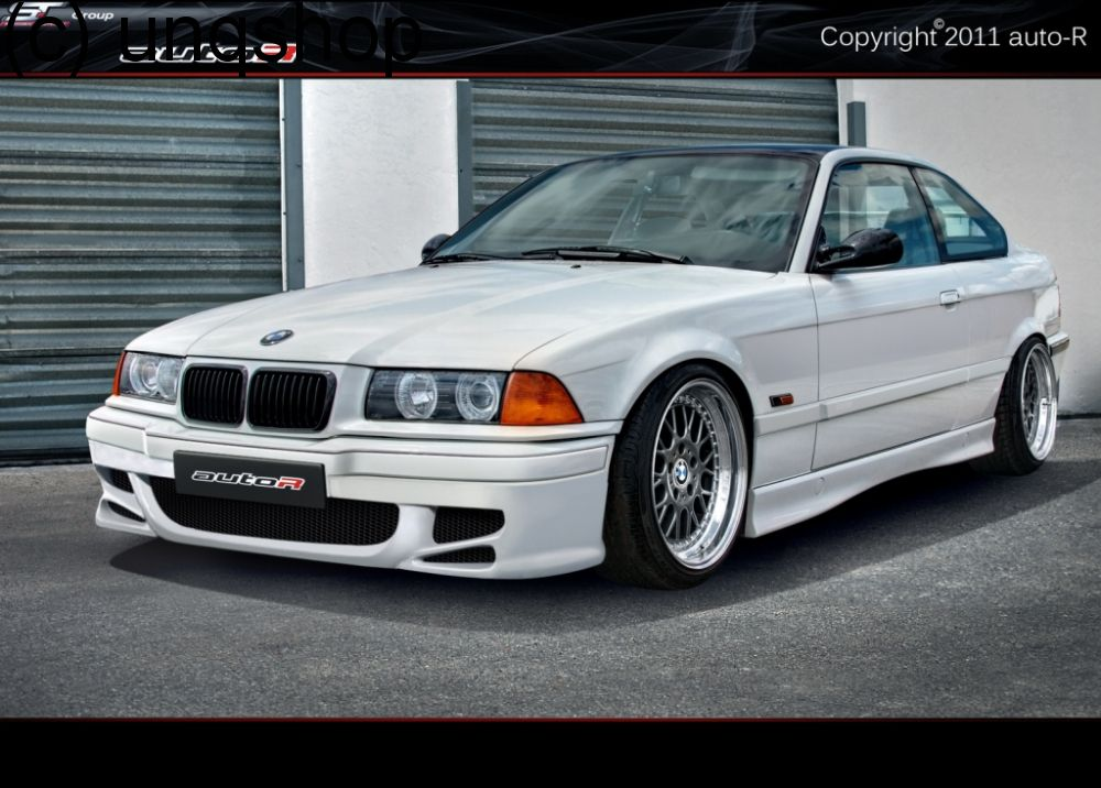front bumper racing bmw 3 series e36. Black Bedroom Furniture Sets. Home Design Ideas