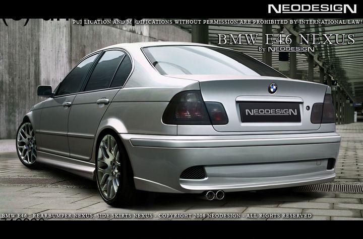 Rear bumper BMW 3 SERIES E46 , only for Nexus