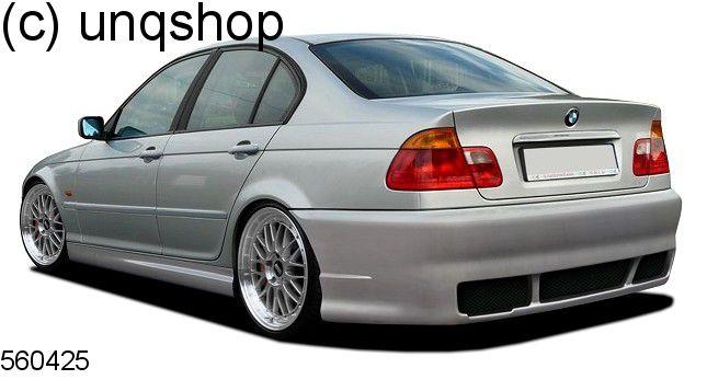 Rear Bumper TUNING BMW SERIES E - Bmw 3 series e46