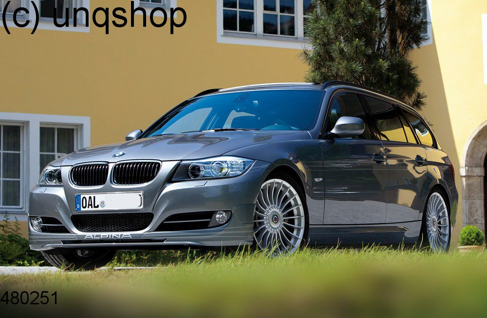 Front splitter bumper lip spoiler valance add on (Alpina) BMW 3 SERIES E90/91 , only for Facelift