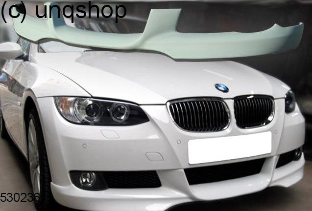 front splitter bumper lip spoiler valance add on bmw 3 series e92 93 only for m tech. Black Bedroom Furniture Sets. Home Design Ideas