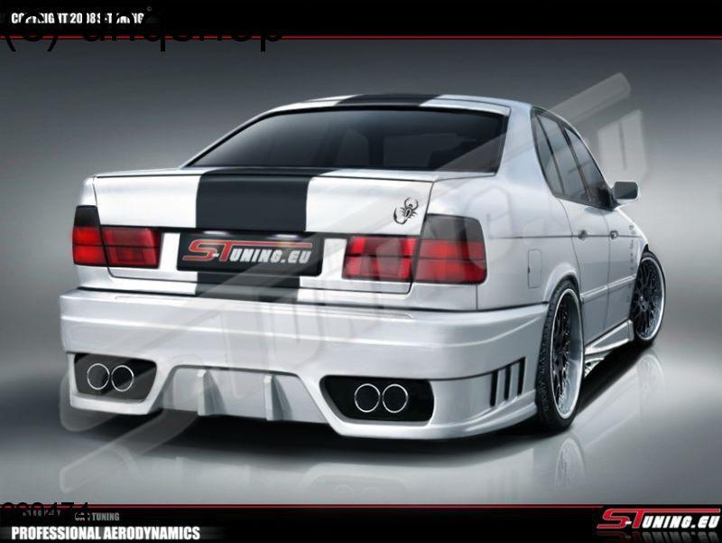 Rear bumper BMW 5 SERIES E34