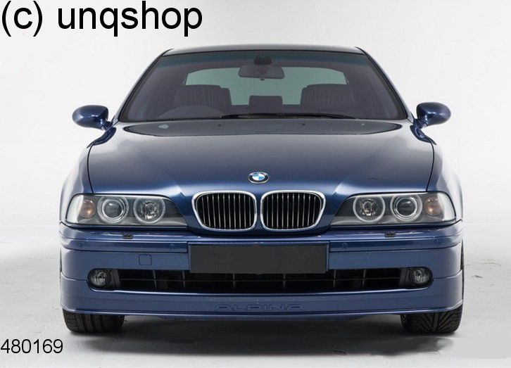 Front splitter bumper lip spoiler valance add on (Alpina) BMW 5 SERIES E39 , only for Facelift
