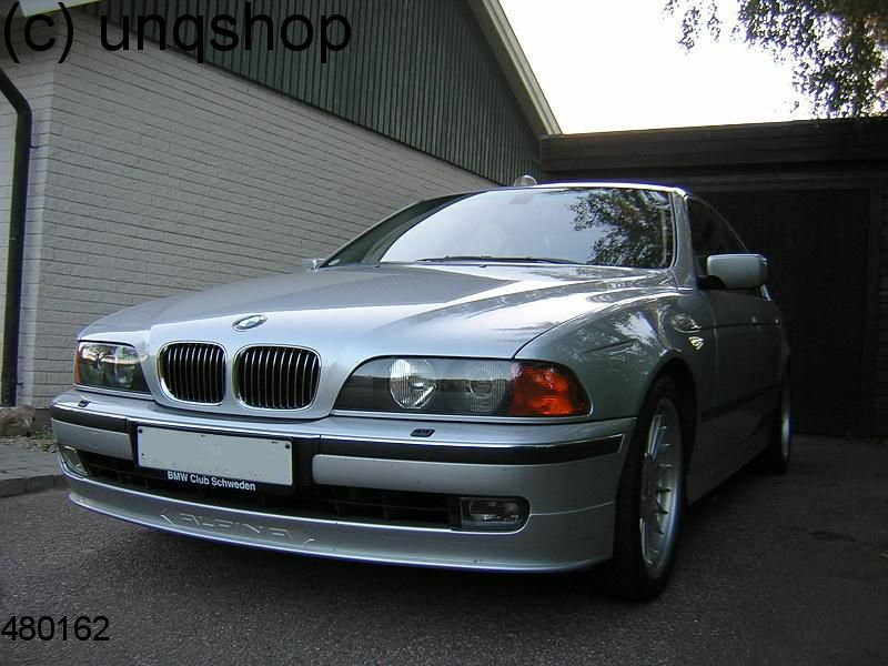 Front splitter bumper lip spoiler valance add on (ALPINA) BMW 5 SERIES E39 , only for Prefacelift