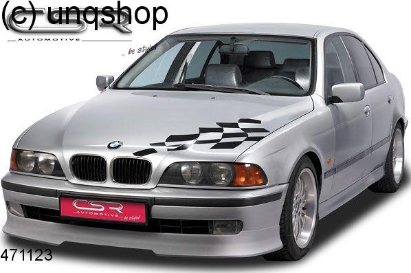 Front splitter bumper lip spoiler valance add on BMW 5 SERIES E39 , only for Prefacelift