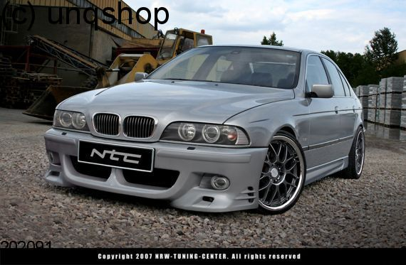 Front bumper (HALF LOOK) BMW 5 SERIES E39