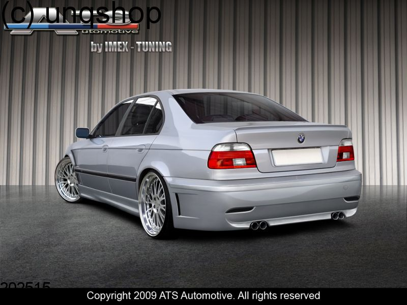 Rear bumper (KBS EVO) BMW 5 SERIES E39