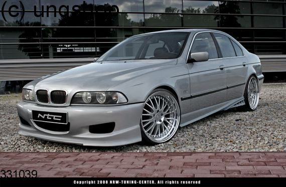 Front bumper (NTC) BMW 5 SERIES E39