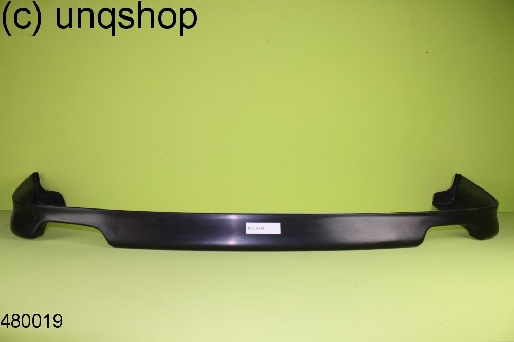 Rear splitter bumper lip spoiler valance add on BMW 5 SERIES E39 , only for Double Exhaust