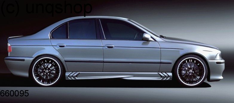 Side skirts (S-Power) BMW 5 SERIES E39