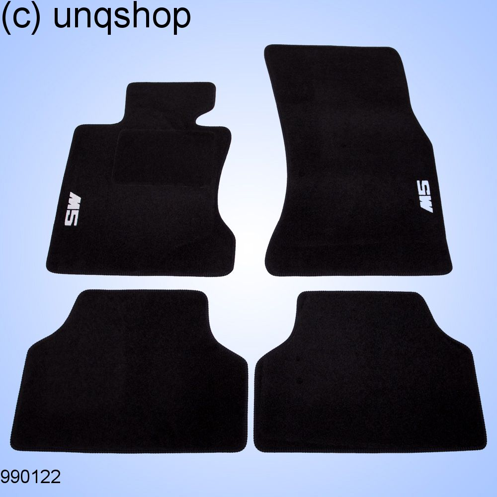 Car Mats (M) BMW 5 SERIES E60/61 , only for EURO LHD