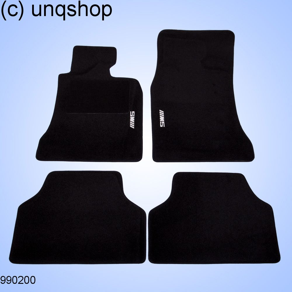 Car Mats (M) BMW 5 SERIES E60/61 , only for UK RHD