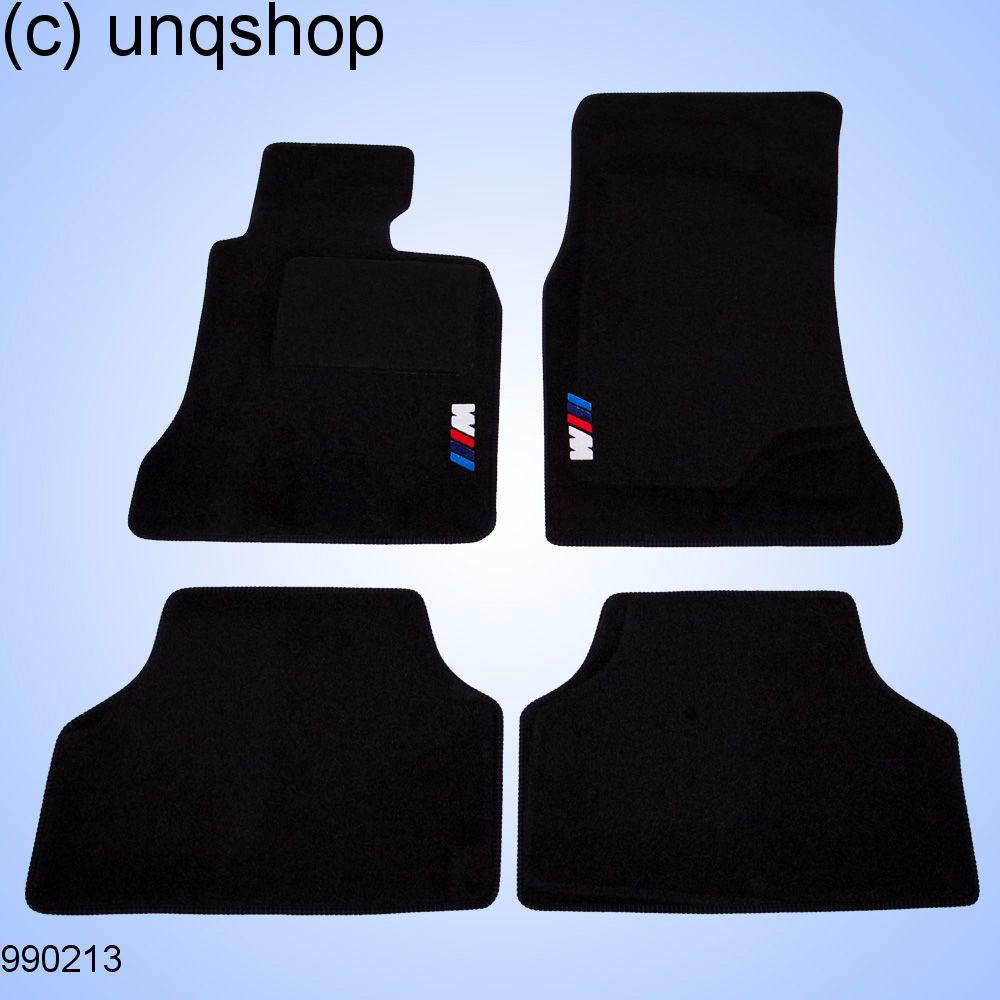 car mats (three colour logo) bmw 5 series e60/61 , only for uk rhd