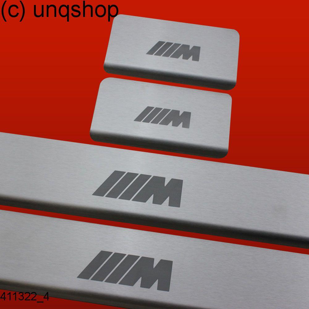 411322 4 les seuils de porte bmw 5 series f10 m typ2 mat for Seuil de porte sur mesure