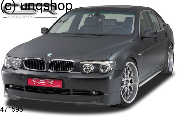 Front splitter bumper lip spoiler valance add on BMW 7 SERIES E65/66