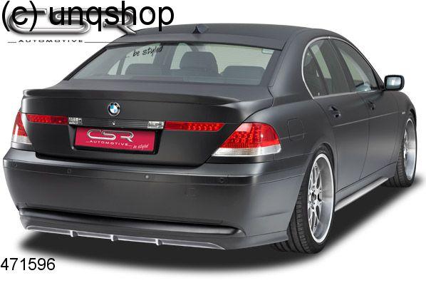 Rear splitter bumper lip spoiler valance add on BMW 7 SERIES E65/66