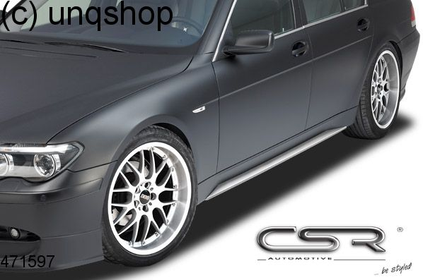 Side skirts BMW 7 SERIES E65/66