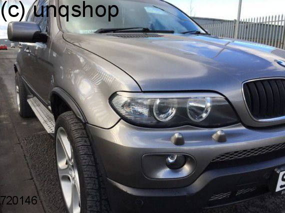 Eyebrows BMW X5 E53 , only for Facelift