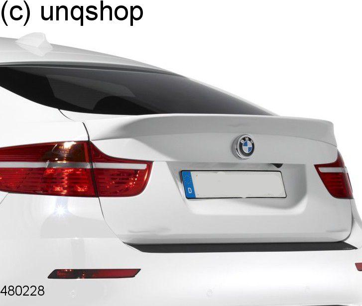 Boot spoiler BMW X6 E71