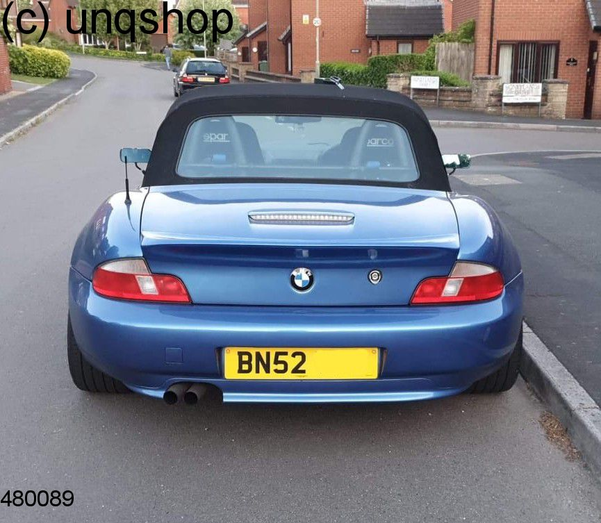 Boot Spoiler (Drifter) BMW Z3  , only for Facelift 4 cylinders