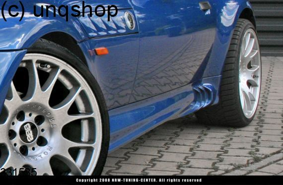Side skirts (Facelift) BMW Z3  , only for 4 cyl