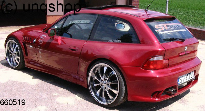Rear bumper (Intruder) BMW Z3  , only for 4 Cylinder  facelift