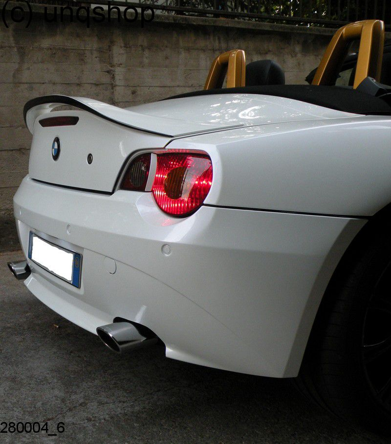 Bmw Z4 E85: 280004 BOOT SPOILER BMW Z4 E85, ONLY FOR ROADSTER GRP
